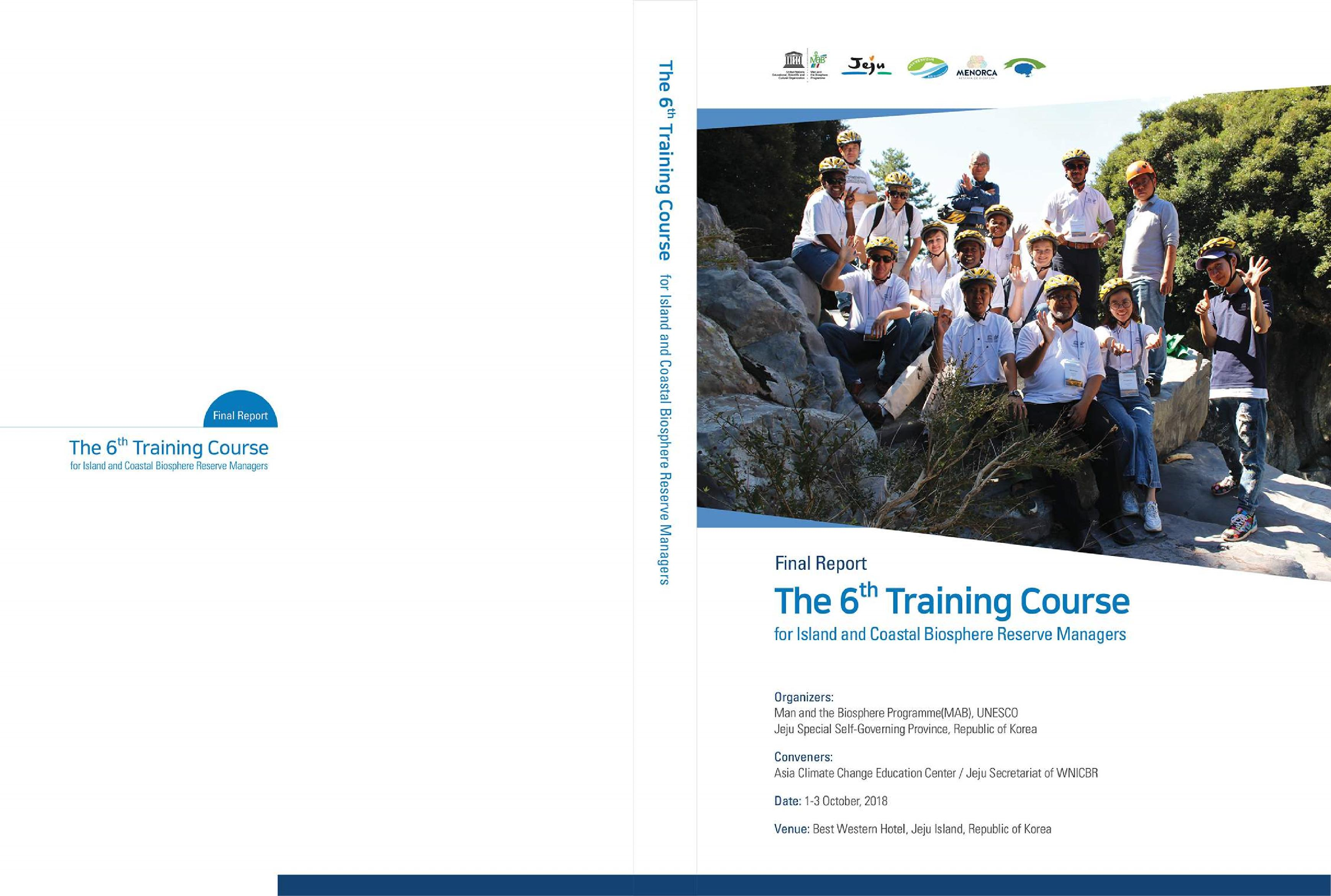 The 6th WNICBR Managers Training Course - Final Report
