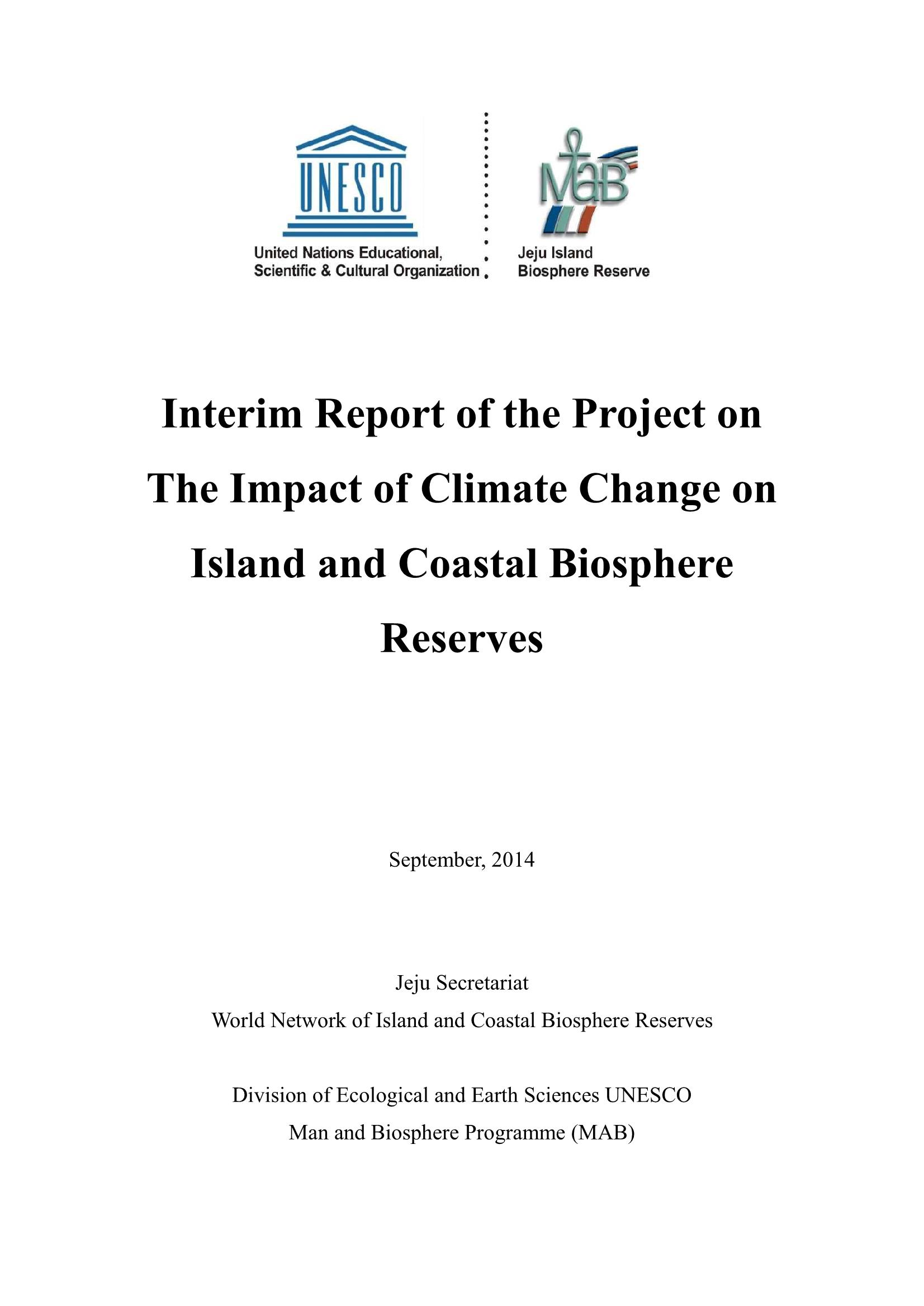 Interim Report of Joint Research Project