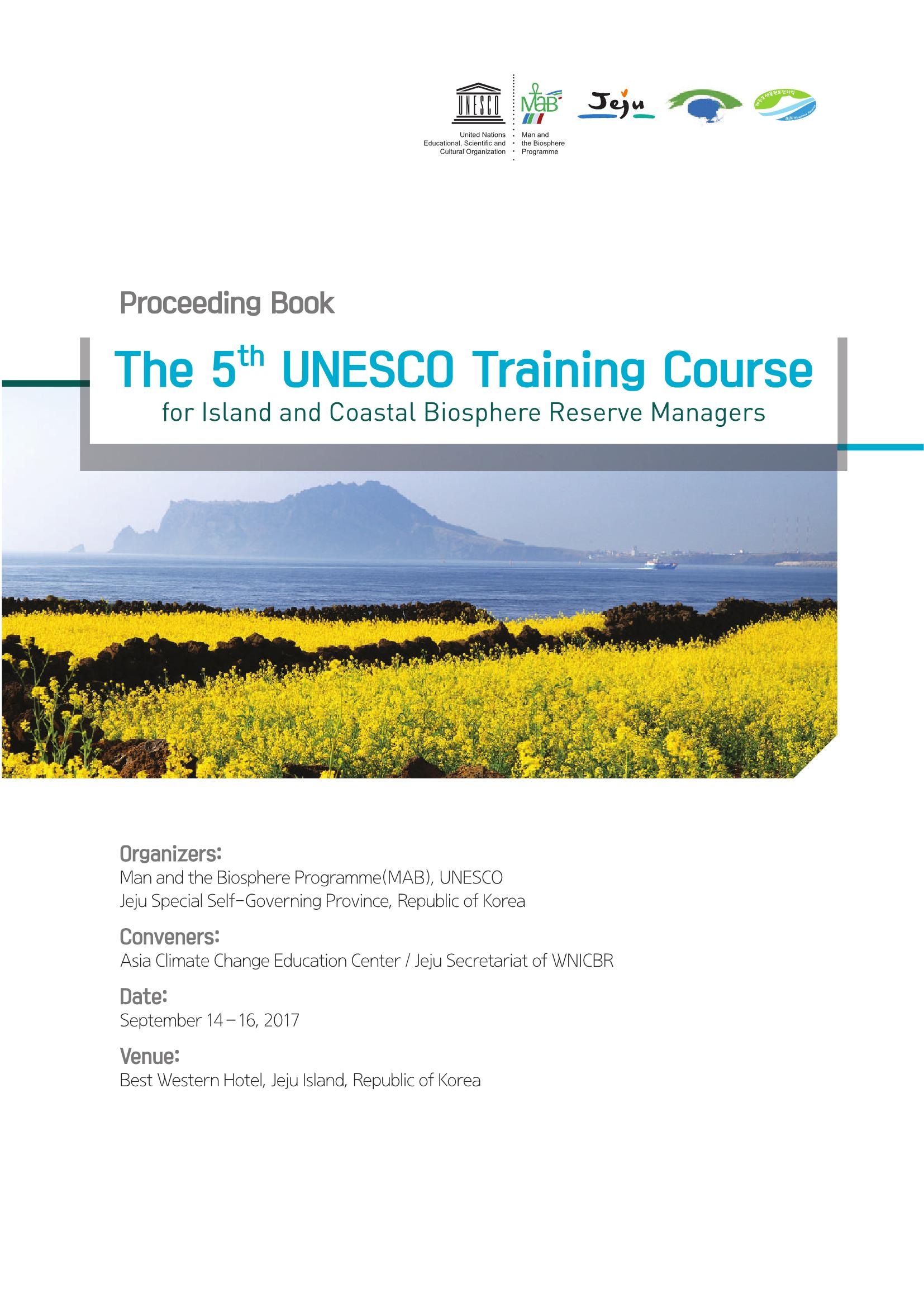 5th BR Manager Training Course Proceeding Book
