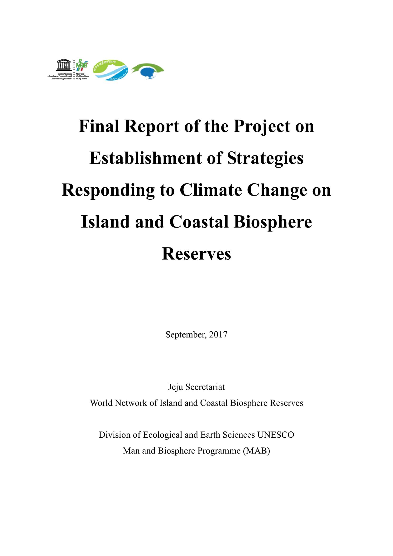 Final Report of Joint Research Project (2nd stage)