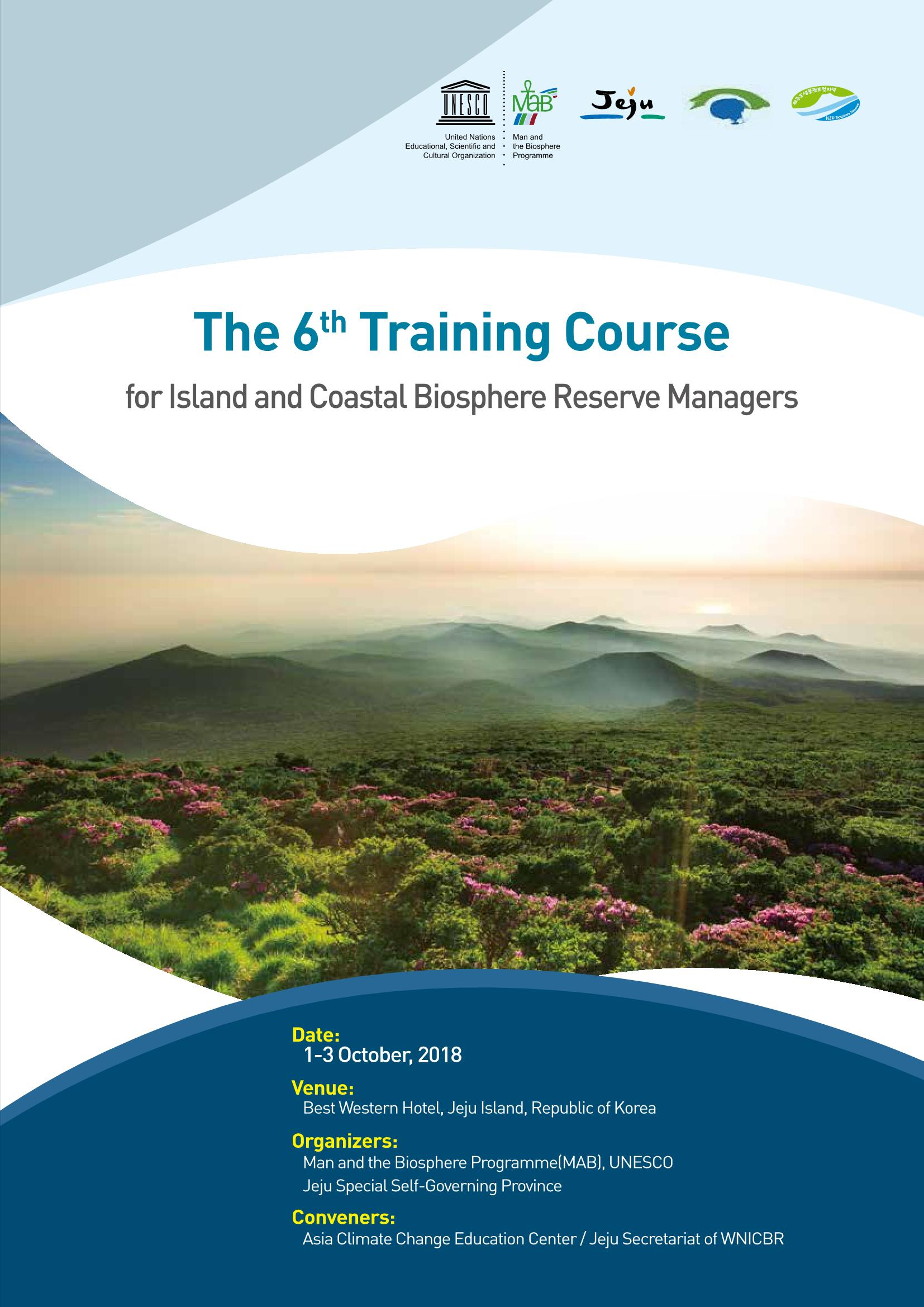 The 6th WNICBR Managers Training Course - Proceeding Book