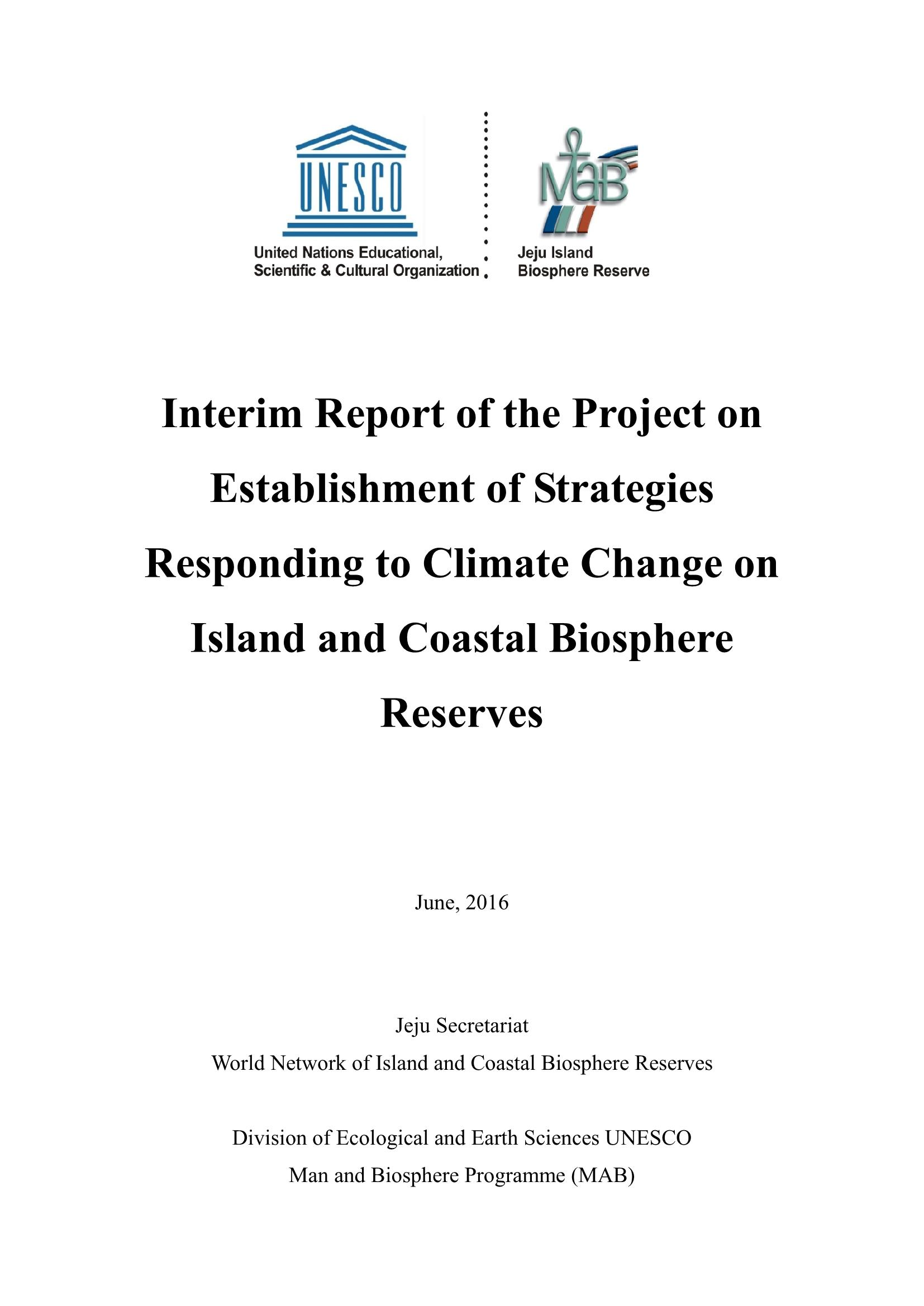 Interim Report of Joint Research Project (the 2nd stage)