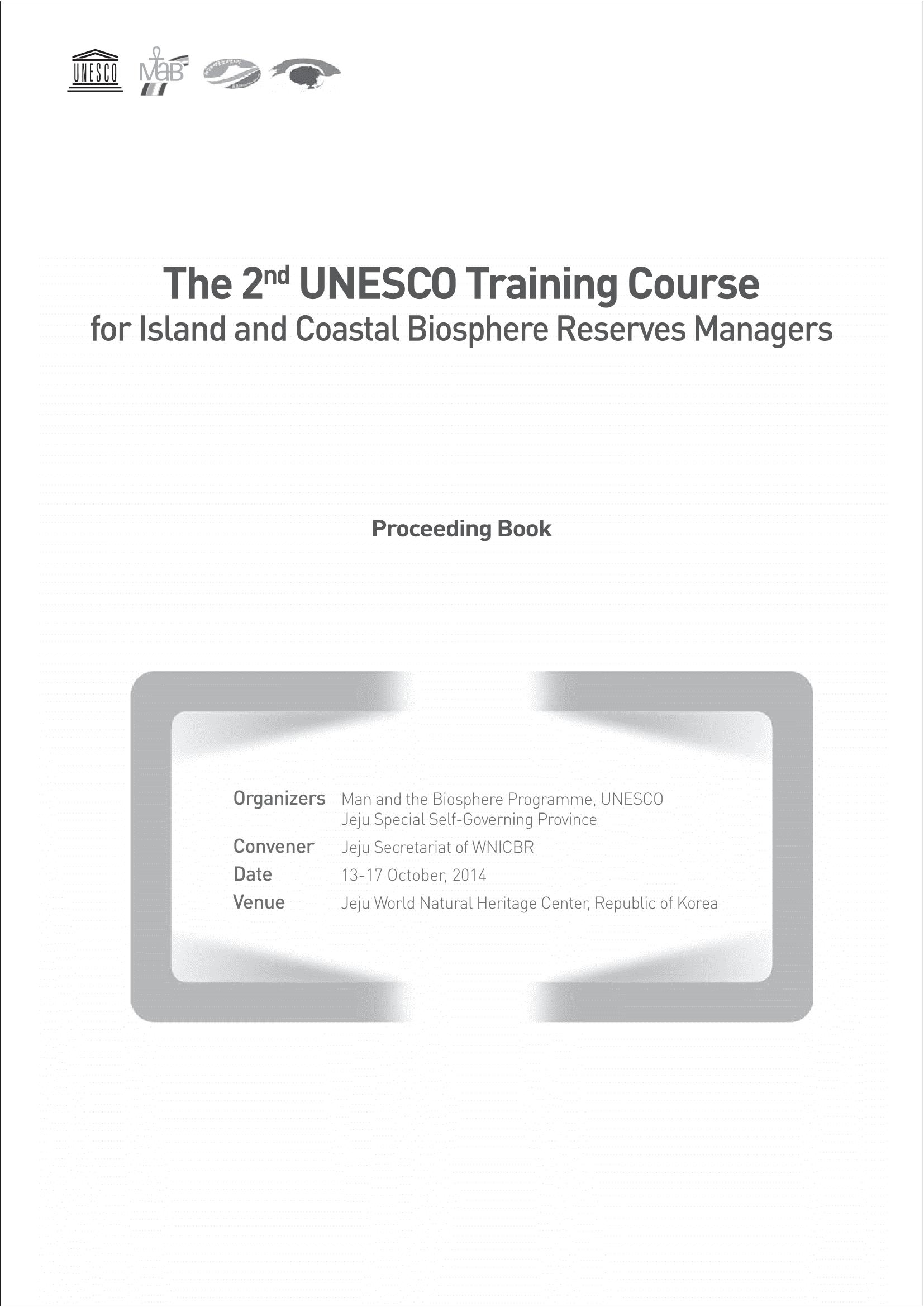 2nd BR Manager Training Course Proceeding Book